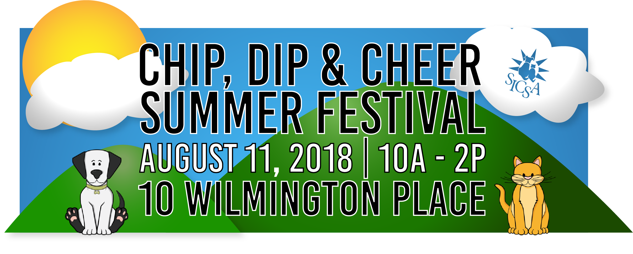 chip dip and cheer sicsa festival